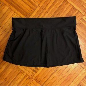 ⚡️4/$20⚡️Island Escape Black Swim Skirt